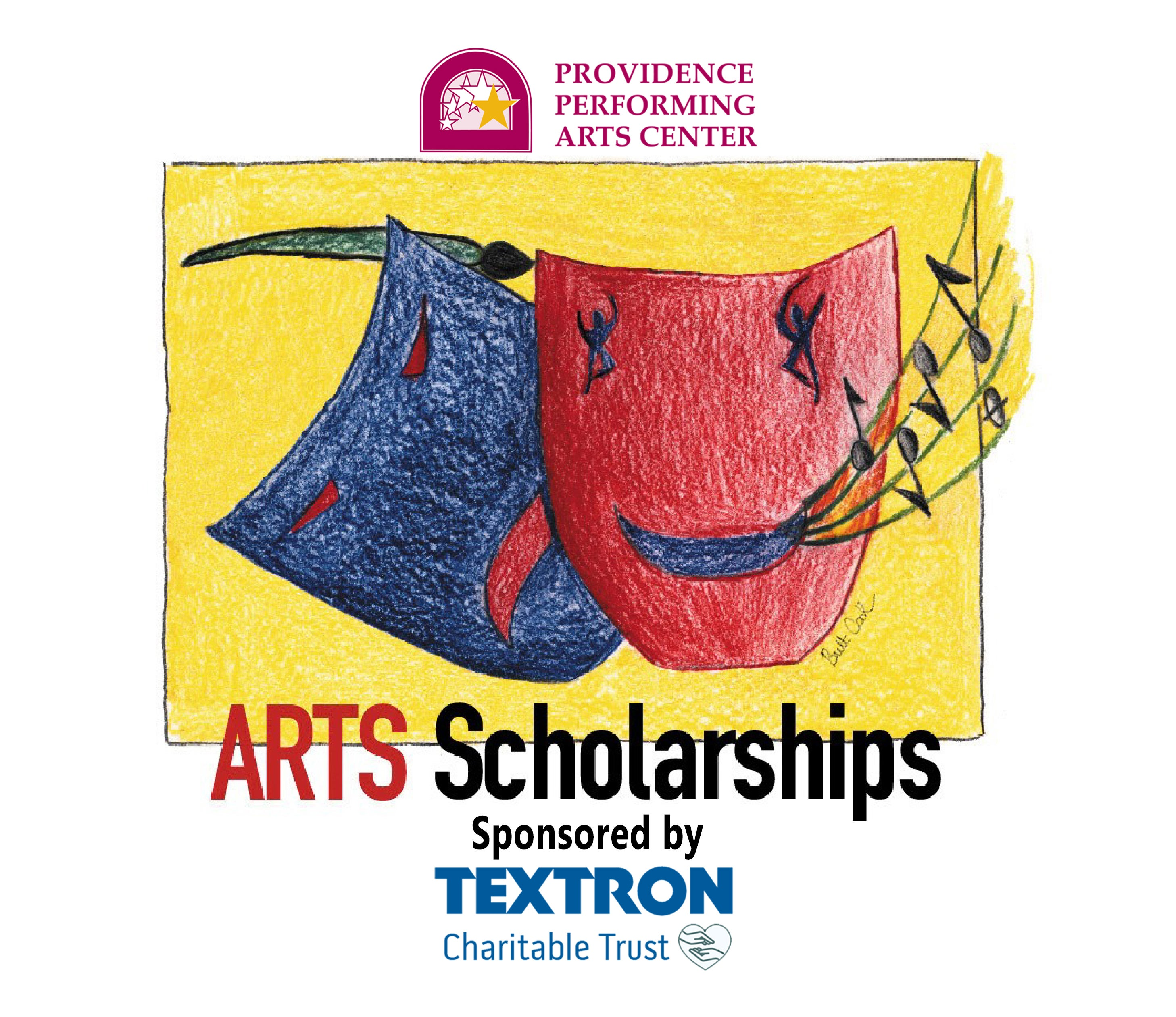 PPAC's Arts Scholarships, sponsored by Textron Charitable Trust.