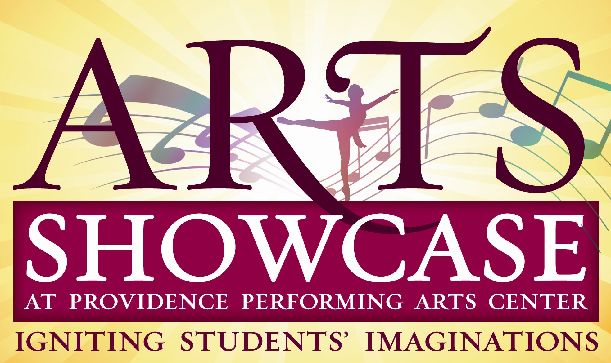 Arts Showcase at Providence Performing Arts Center. Igniting Students' Imaginations.