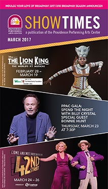 March 2017 Showtimes