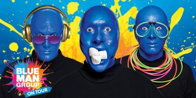 Blue Man Group, On Tour.