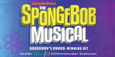 Nickelodeon's The Spongebob Musical, Broadway's Award-Winning Hit.