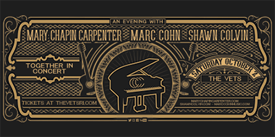 More Info for Mary Chapin Carpenter - Marc Cohn - Shawn Colvin: Together In Concert