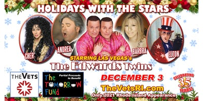 More Info for AT THE VETS: The Edwards Twins: Holidays with the Stars