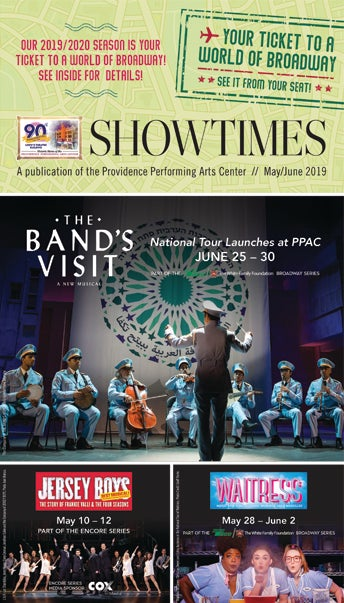 Showtimes: A Publication of Providence Performing Arts Center, May/June 2019. .
