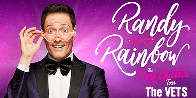 More Info for AT THE VETS: Randy Rainbow: The Pink Glasses Tour